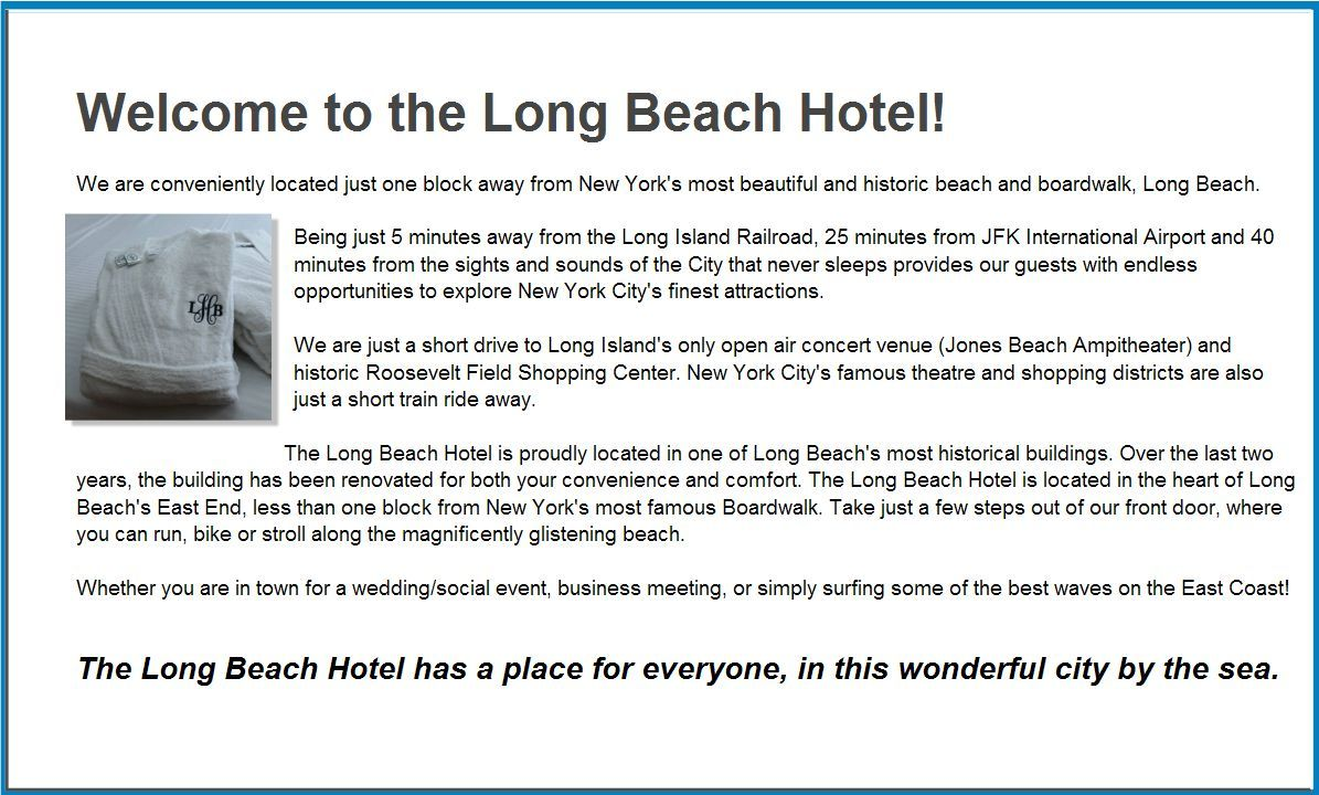Long Beach Hotel New York